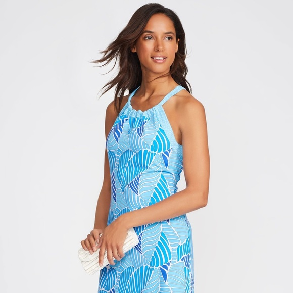 J Mclaughlin Ellie Halter Dress Laguna
